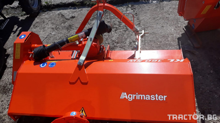 Мулчери AGRIMASTER KL 160 шредер 1 - Трактор БГ