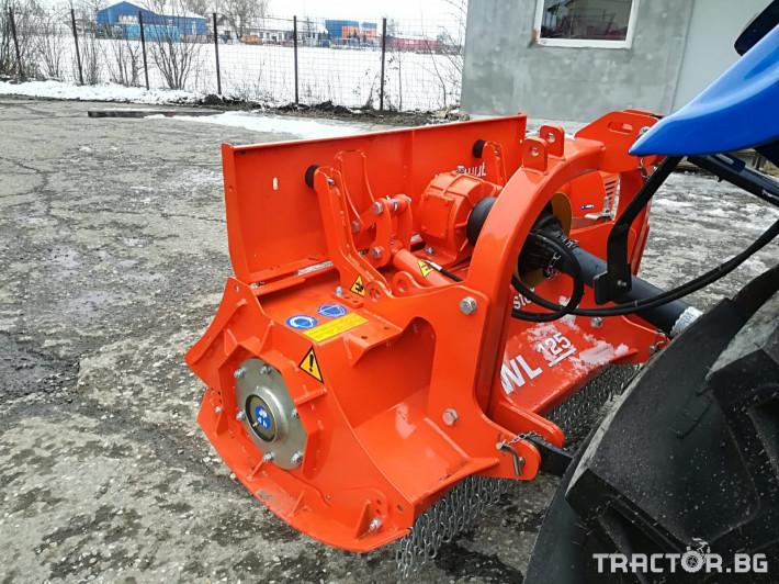 Мулчери AGRIMASTER WL125 шредер 5 - Трактор БГ
