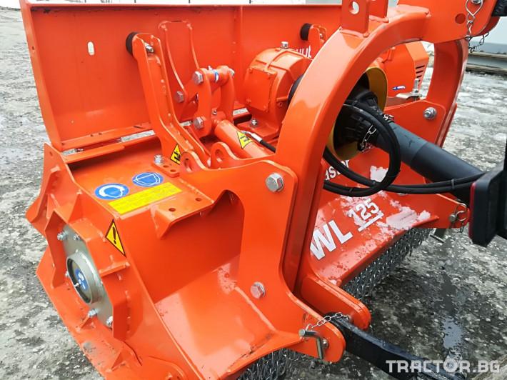 Мулчери AGRIMASTER WL125 шредер 7 - Трактор БГ